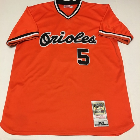 super popular 02c98 43861 Rare 1975 Mitchell & ness throwback Orioles jersey